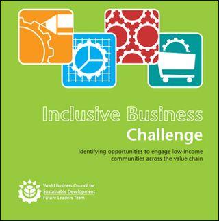 Wbcsd inclusive business challenge