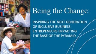 Ifc inclusive business being the change