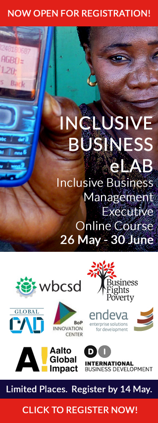 Inclusive Business eLab 2014